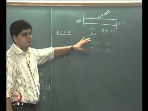 Mod-08 Lec-34 Gewöhnliche Differentialgleichungen (Randwertprobleme) Part 1