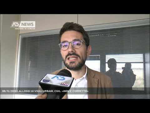 08/11/2019 | ALLOGGI AI VIGILI URBANI, CGIL: «NON E' CORRETTO»