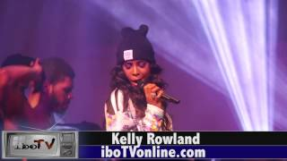 Kelly Rowland performs @ Hennessy Super Bowl Party NYC