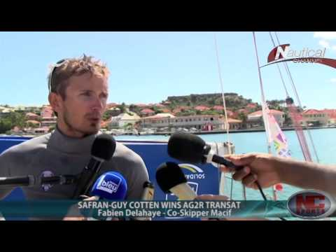 Collision at Extreme Sailing Series in Qingdao, AG2R Transat 2014 Winners, & more!