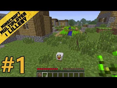 Minecraft Multiplayer i Lilleby - Del 1 - Äventyret Börjar!