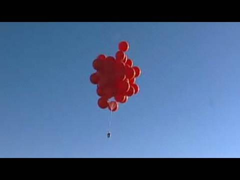 Balloon Boy - Helium Ballon Flug -Test