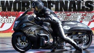 Video 225 MPH Turbo Super Bikes! NHDRO World Finals 2017, motorcycle racing Indy MP3, 3GP, MP4, WEBM, AVI, FLV Desember 2017