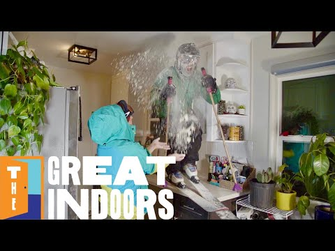 The Great Indoors Episode 1: Skiing with Rachael Burks