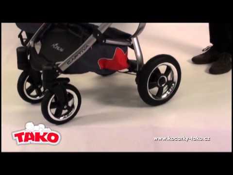 TAKO CAPTIVA 2 в 1 детская универсальная коляска 3 в 1 видеообзор vasilechek.ru collection