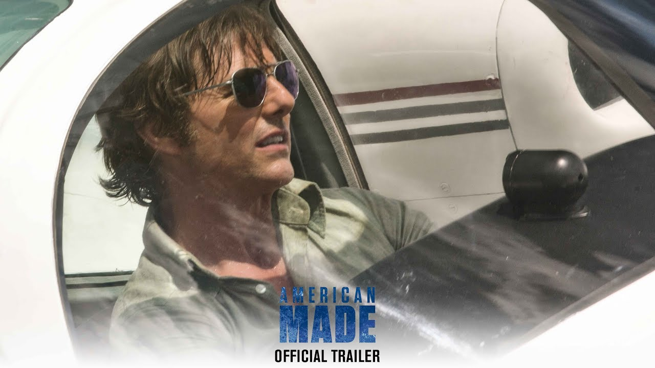 Movie Trailer:  American Made (2017)
