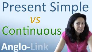 Present Simple and Present Continuous, Learn English Tenses Lesson 1