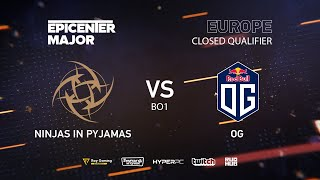 NiP vs OG, EPICENTER Major 2019 EU Closed Quals , bo1 [GodHunt & Inmate]