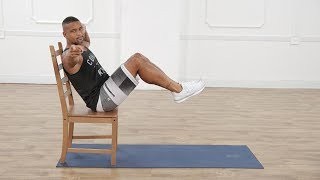 Get flat abs without getting on the mat with these three exercises from Shaun T, Beachbody supertrainer and creator of Insanity and Shaun Week. You can find more workouts from Shaun T on https://www.beachbodyondemand.com/programs/shaun-week. POPSUGAR Fitness offers fresh fitness tutorials, workouts, and exercises that will help you on your road to healthy living, weight loss, and stress relief.  Check out Class FitSugar, our do-it-along-with-us real-time workout show hosted by Anna Renderer who will inspire you to sweat alongside fitness experts and Hollywood's hottest celebrity trainers. Class FitSugar regularly covers the most buzzed-about workout classes and trends, including the Victoria's Secret workout, Tabata, P90X, Bar Method, and more.Subscribe to POPSUGAR Fitness!http://www.youtube.com/subscription_center?add_user=popsugartvfitCheck out the rest of our channel:https://www.youtube.com/user/popsugartvfit