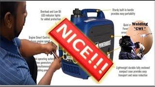 8. Powerhorse Inverter Generator 2000 Starting Watts 52dB Noise Level