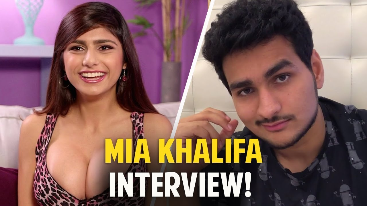 Mia Khalifa Interview 2019 Ft Anmol Sachar   Funny Hindi