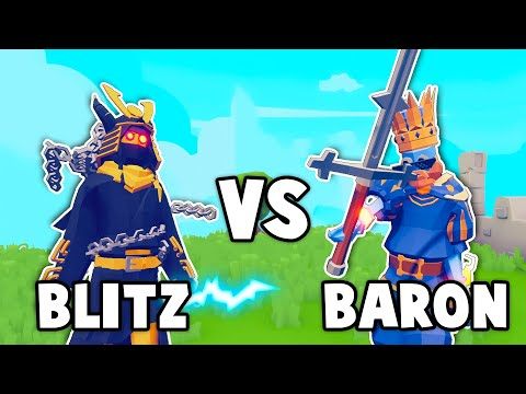 TABS MULTIPLAYER! - Baron Vs. Blitz in the BEST BATTLES EVER - Totally Accurate Battle Simulator