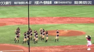 Download Lagu BsGirls 「TOP」2016 3/5 VS巨人戦 試合開始前 京セラ Mp3