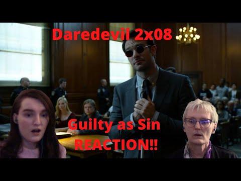 """Daredevil Season 2 Episode 8 """"Guilty as Sin"""" REACTION!!"""