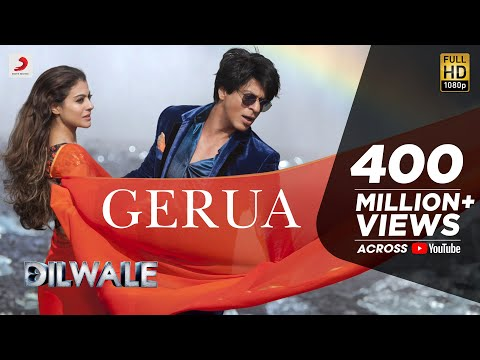 Shah Rukh Khan-Kajol Dilwale first song 'Gerua'