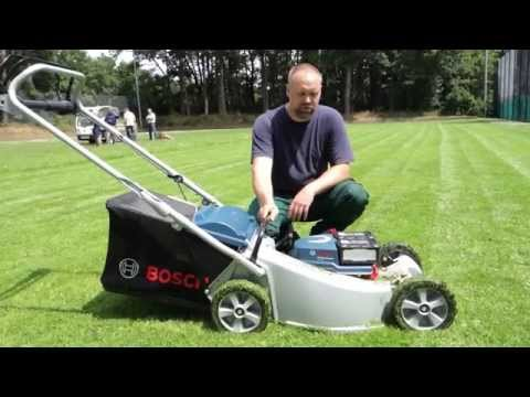 Rasenmähertest: Akku gegen Benziner