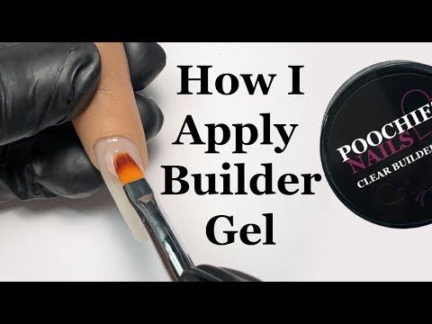 Gel nails - Poochiez Nails Clear Builder Gel