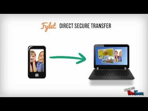 Video of Fylet Secure Photo Transfer