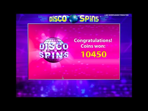 Online Slots Free Spins & £10,450 Big Win | Disco Spins