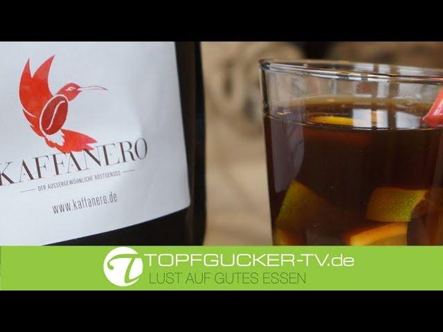 Kalter Kaffee mit Tonic und Zitrone   Kaffanero - die Kaffeerösterei Dresden   Genusspartner