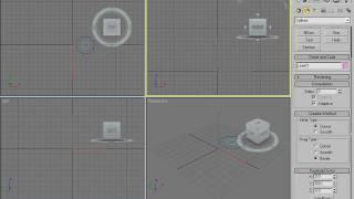Создание составных объектов в 3Ds Max 2009