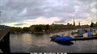 HDR time lapse video of Zürichsee