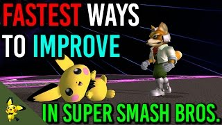 SSBM Tutorials – Fastest way to improve at SMASH ft. Captain Faceroll
