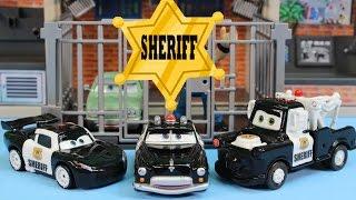 Video Disney Pixar Cars Sheriff Car Lightning McQueen Mater Battle Imaginext Mohawk Dude Jail Robot MP3, 3GP, MP4, WEBM, AVI, FLV November 2018