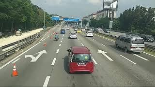Sawangen Tasya Rosmala Suasana highway Kuala Lumpur