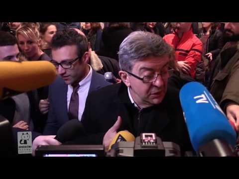 FIBD2017 : Visite de Jean-Luc Melenchon