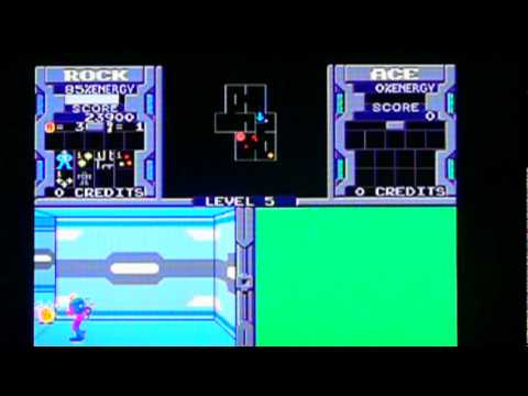 Xybots from Midway Arcade Treasures 2 on Sony PS2. Gameplay & Commentary