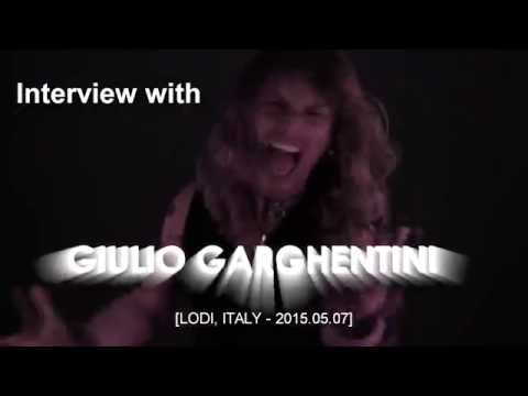 INTERVIEW WITH GIULIO GARGHENTINI [2015.05.07]
