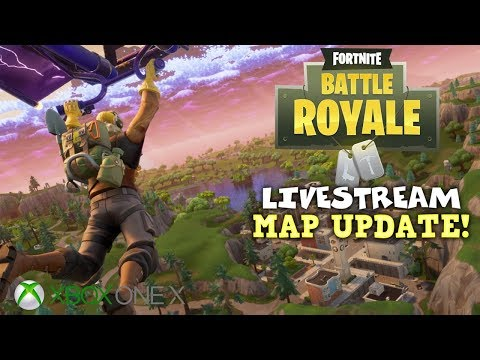 New Map Update! - Duos with Kazi - Fortnite Battle Royale Gameplay - Xbox One X - Livestream (видео)