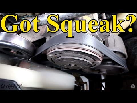 how to quiet an alternator