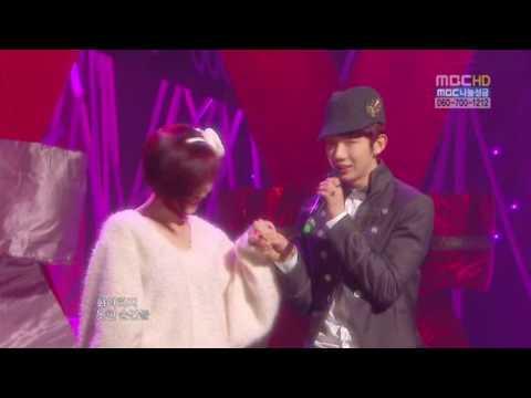 [HD] GaIn (Brown Eyed Girls) & JoKwon (2AM) – We Fell in Love (100109   MC)