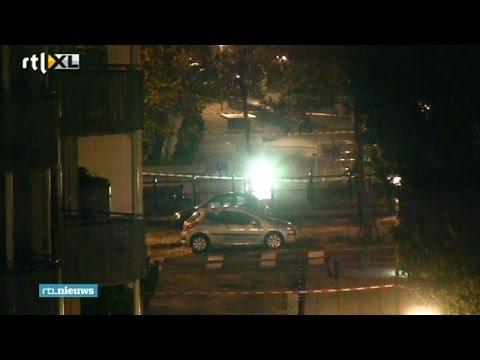 Duikers opzoek naar moordwapen liquidatie Derkiaoui 'Pirki' van der Meijden