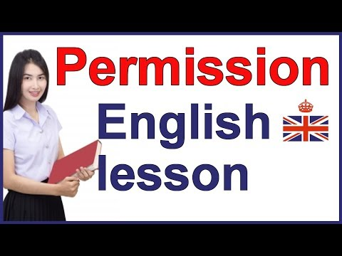 How to ask for PERMISSION - English speaking and conversation