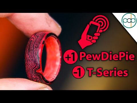 Making A Ring That Subscribes You To PewDiePie & UnSubs T-Series Using NFC