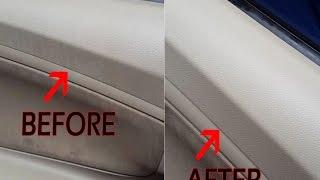 Tips membersihkan Dashboard / doortrim mobil - Toyota Avanza (eng sub)