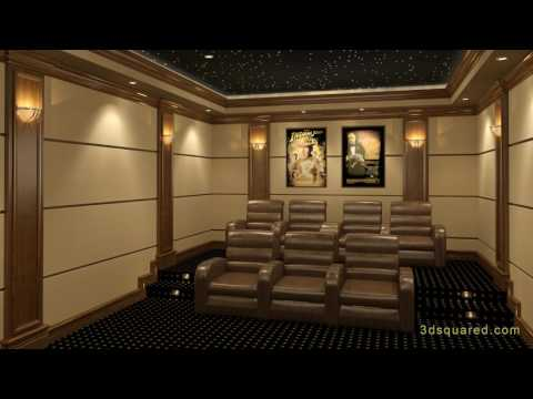 8 Steps To Designing A Successful Home Theater (видео)