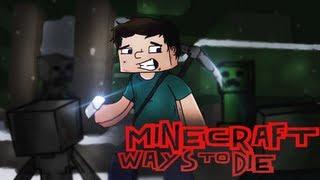 """♫ """"Minecraft Ways to Die"""" - Minecraft Parody of Train - 50 Ways to Say Goodbye"""