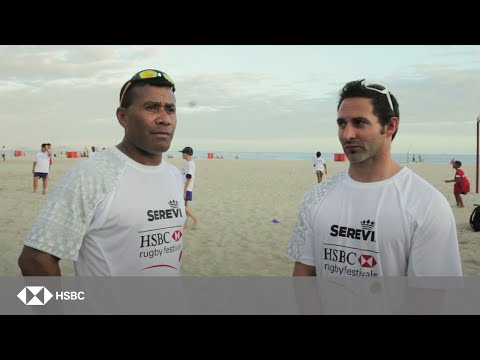 Waisale Serevi takes rugby to Brazil