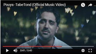 Tabe Tond Music Video Pouya
