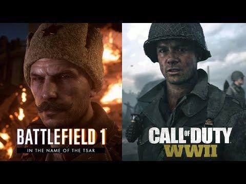 Call of Duty WWII vs Battlefield 1 | Visual & Audio In-Depth Comparison