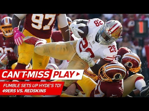 Video: Carlos Hyde's TD Blast Set Up by Jimmie Ward's Clutch Fumble Recovery! | Can't-Miss Play | NFL Wk 6