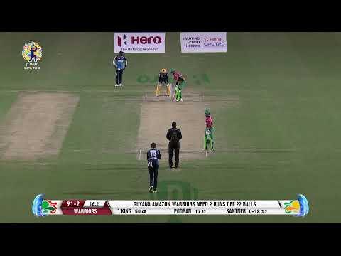 LIVE CPL | Match 22 | Guyana Amazon Warriors v Barbados Tridents #CPL20