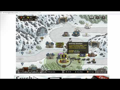 Kingdom Rush Icewind Pass (level 8) Walkthrough