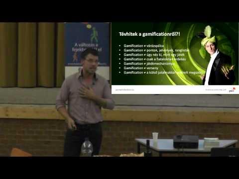 Vendler Balázs: Gamification - a játékosítás forradalma