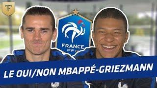 Video Le Oui/Non avec Griezmann et Mbappé (Equipe de France) MP3, 3GP, MP4, WEBM, AVI, FLV November 2017