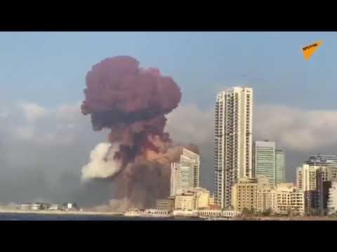 Maasive explosin in Lebanon Capital Beirut | pray for Beruit people | sad news.